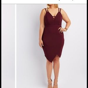 Charlotte Russe Plus Size 1X Bodycon Dress